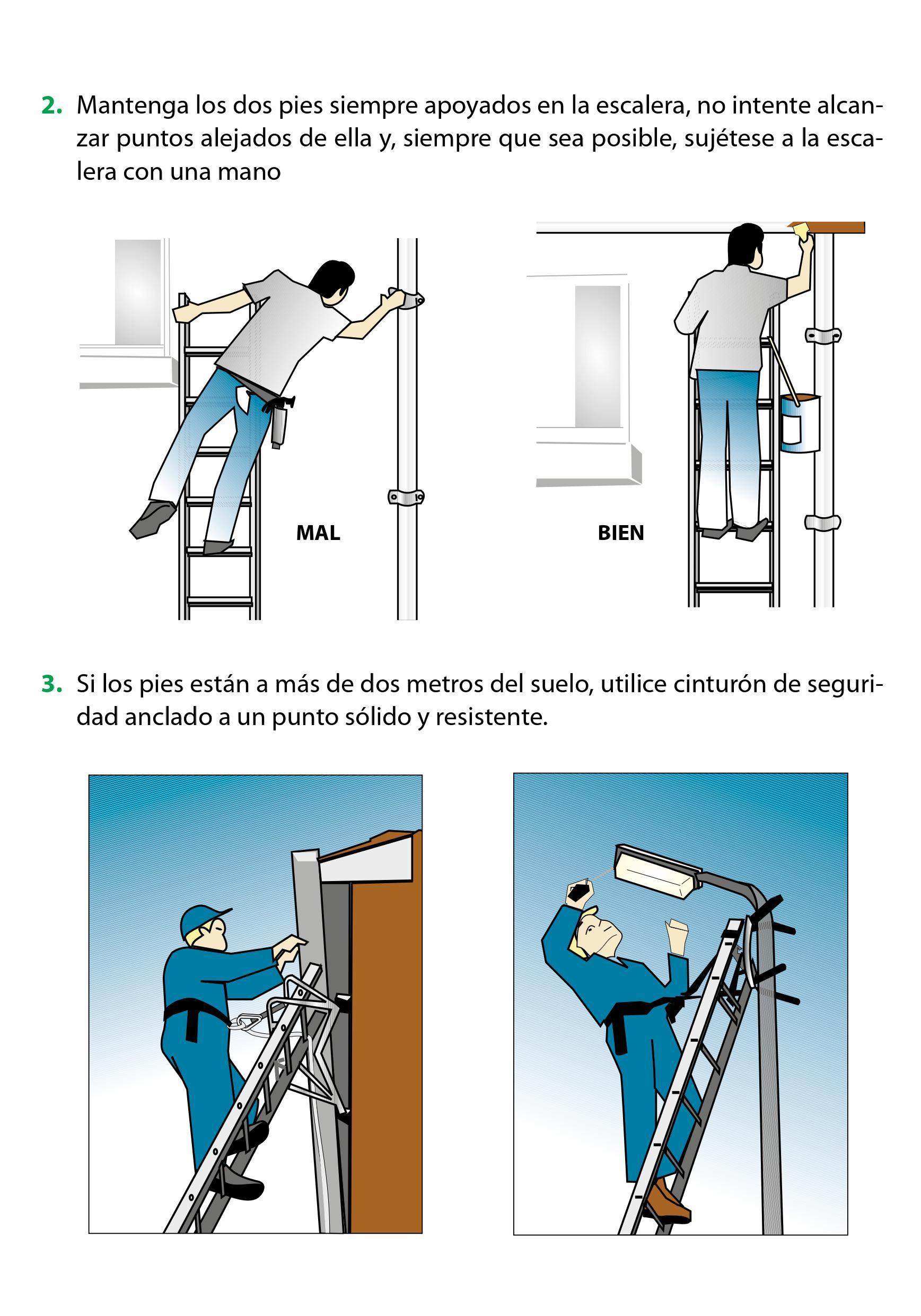 Las ca das de una escalera de mano pueden ser mortales - Escaleras de mano ...